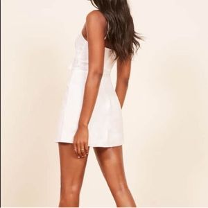5811b47c65 Reformation Dresses - NWT reformation sullivan Tie front Linen dress